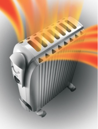 DeLonghi TRD0715T Safeheat 1500W Portable Oil-Filled Radiator