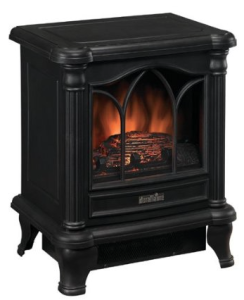 Duraflame 450 Black Freestanding Electric Stove DFS-450-2