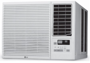LG Electronics LW7014HR 7000 BTU 115-volt Window-Mounted Room Air Conditioner with 3850 BTU Supplemental Heating Function