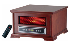 Lifesmart Compact Power Plus 800 Square Feet Infrared Heater