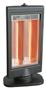 Comfort Zone Flat Panel Halogen Heater CZHTV9