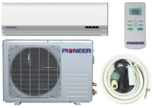 Pioneer WYD012AL3JAR-L mini-split air conditioner - parts