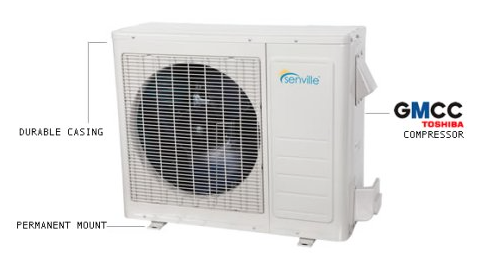 Senville SENL-09HD Leto 9,000 BTU Mini Split Air Conditioner