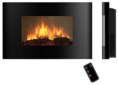 AKDY AZ520AL (Series AZ 520A) Wall Mounted Electric Fireplace with remote control