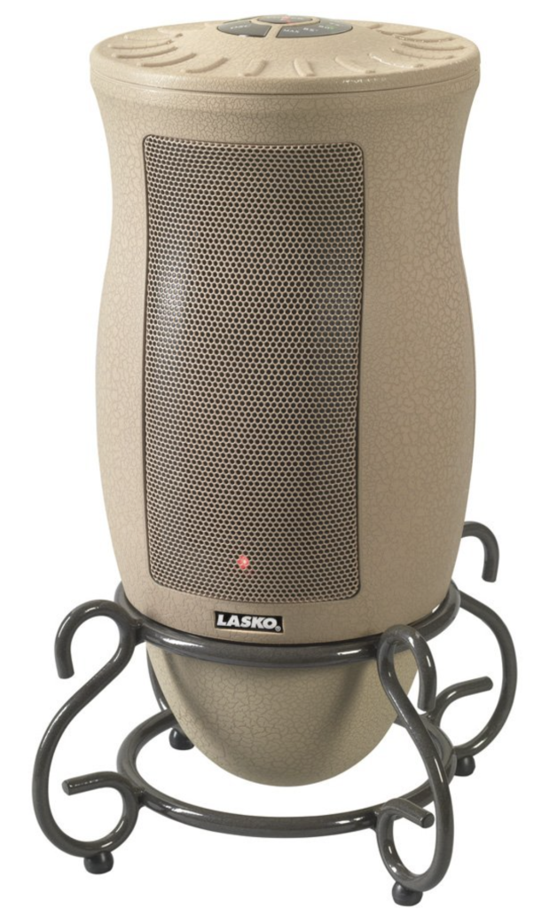 Lasko 6435 Ceramic Oscillating Electric Heater